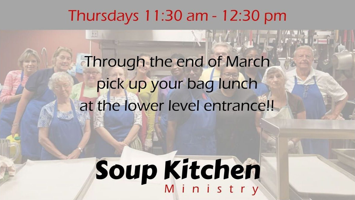 Soup Kitchen Change for March