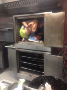 Clean that oven!