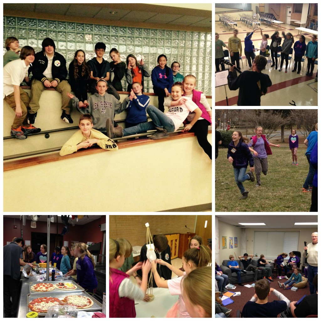 We had lots of fun at our Confirmation Retreat!