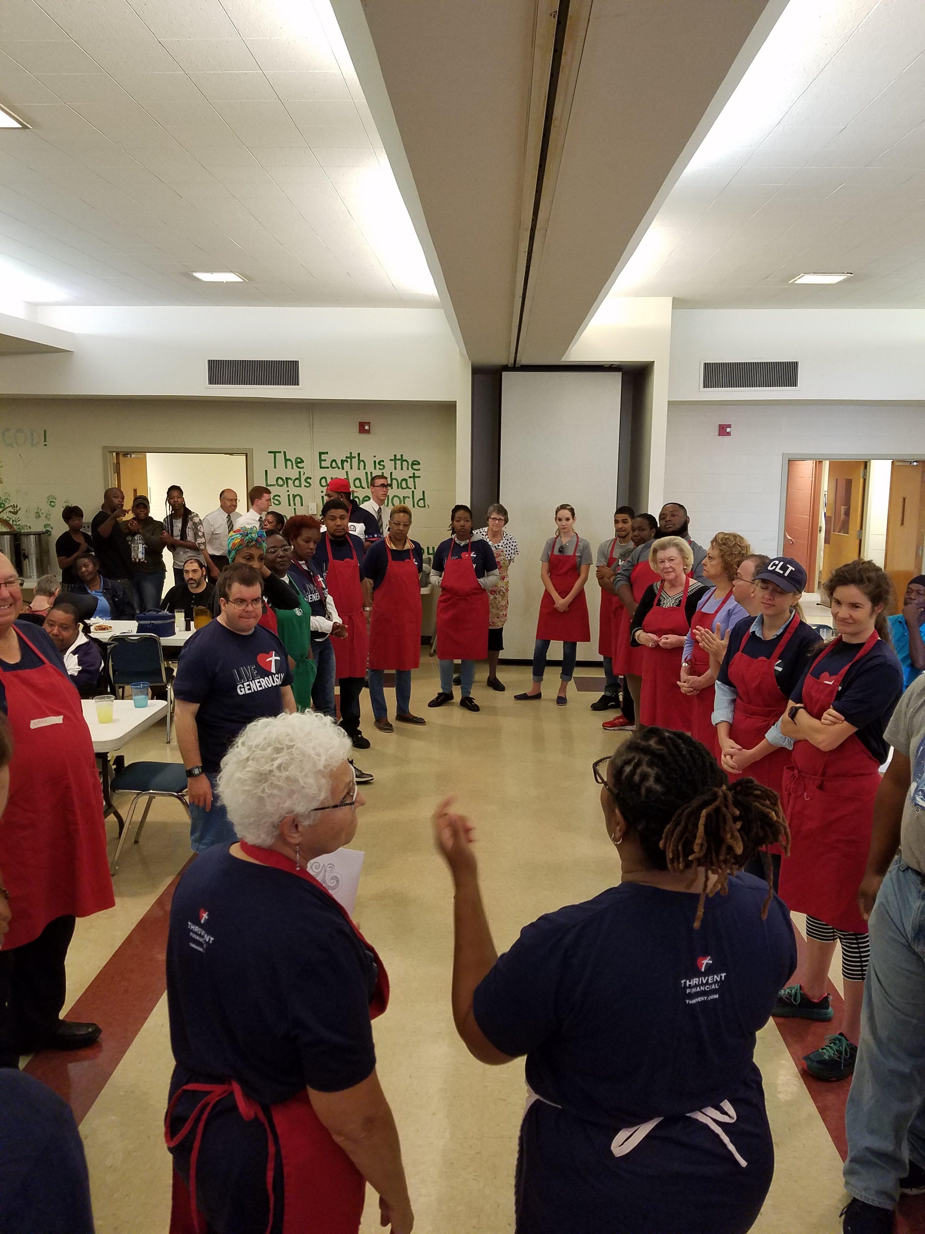 Ascension Lutheran Church Charlotte Nc Soup Kitchen